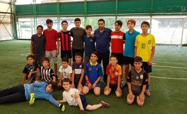 Yaz Kur'an Kursları arası futbol turnuvası sona erdi