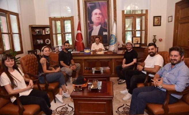 Gökhan Türkmen'den Başkan Şahin'e ziyaret