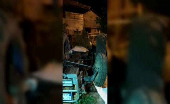Bir traktör kazası daha