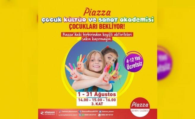 Piazza kültür sanat akademisi başlıyor