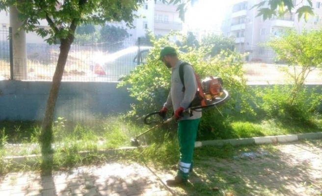 Parklarda bakım, onarım ve düzenleme çalışması