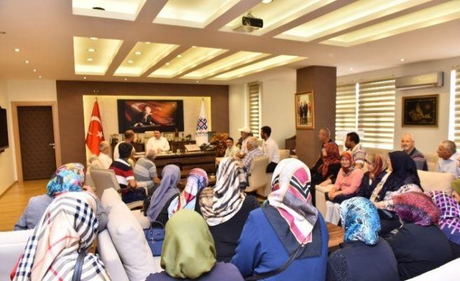 Vatandaşlardan Başkan Avcı'ya teşekkür ziyareti