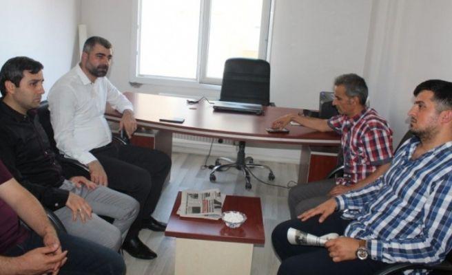 AK Parti İl Başkanı Kılıç'tan Mardin'de medya temsilcilerine ziyaret