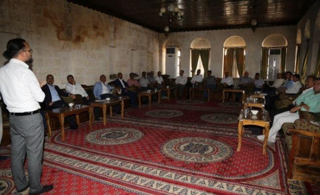 Eyyübiye'de doğalgaz çalışmalarına hız verildi