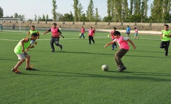 Yaz Kur'an Kursları arası futbol turnuvası