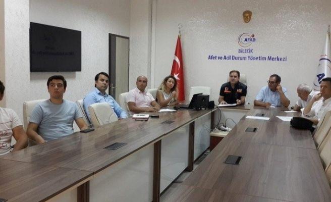 Bilecik'te TAMP Toplantısı yapıldı