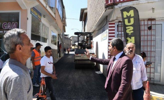 Muş Belediyesinden asfalt seferberliği