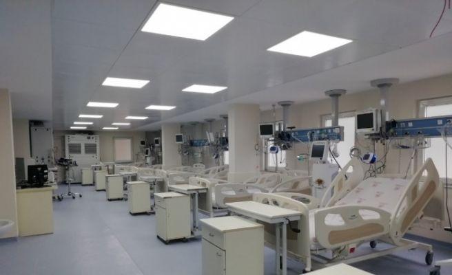 Ordu Devlet Hastanesinde 10 yataklı yoğun bakım ünitesi hizmete girdi