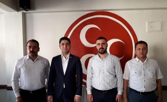 MHP Kayseri Milletvekili Özdemir Develi'yi Ziyaret Etti