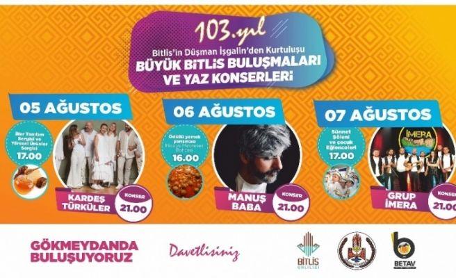 'Büyük Bitlis Buluşmaları' başlıyor