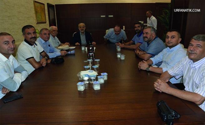 Siverek STK Üyeleri Harran Üniversitesi Rektörü Çelik İle Bir Araya Geldi