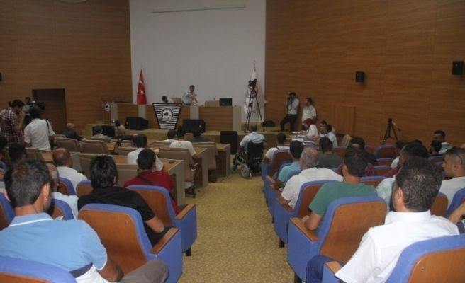 32 kişilik kadroya bin 565 kişi başvurmuştu kura çekimi yapıldı