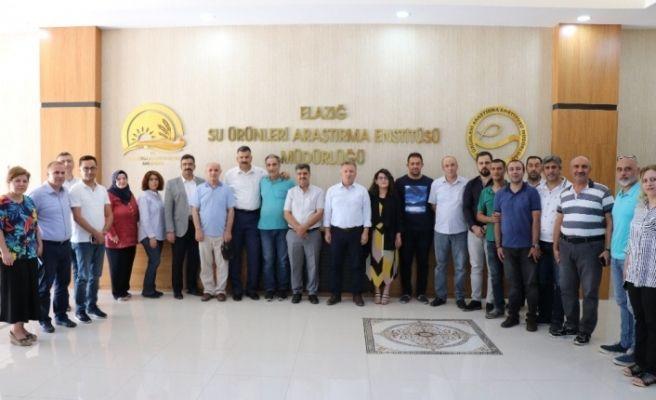 Elazığ'da su ürünleri istişare toplantısı