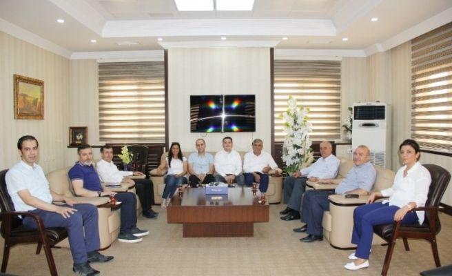 Van Ve Karaman Ticaret Borsalarından GTB'ye ziyaret