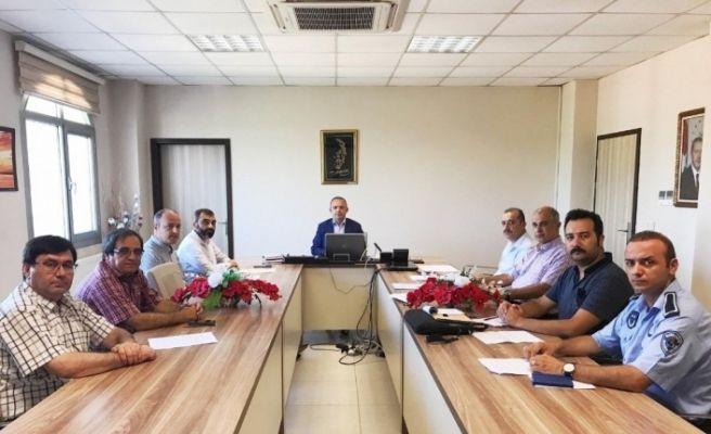 Burhaniye'de Kurban Hizmetleri Komisyonu toplandı