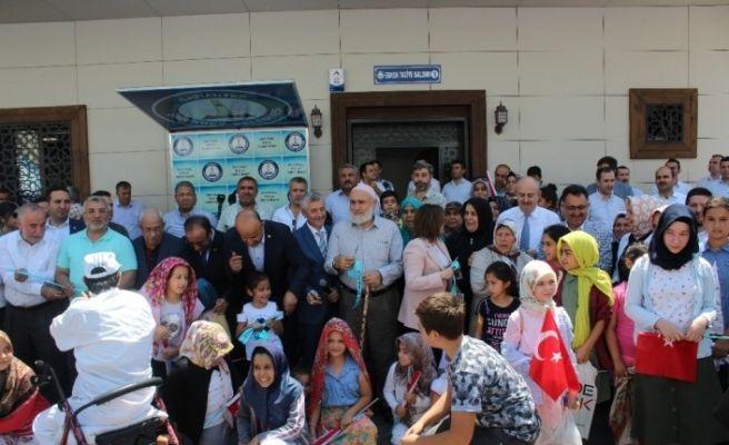 Şahintepe Sosyal Tesisi törenle hizmete açıldı