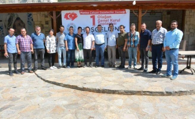 Manisa Çalışan Gazeteciler Derneği Olağan Kongresi yapıldı