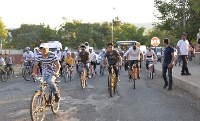 Bingöl'de bisiklet yarışması