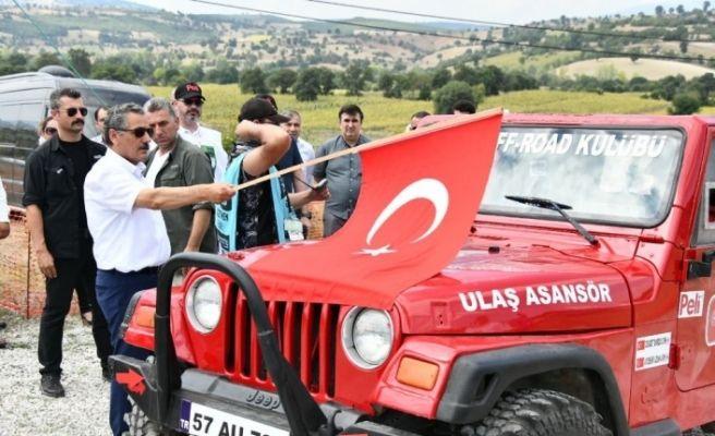 2019 Karadeniz Offroad Kupası 3. Ayak Vezirköprü Yarışları başladı