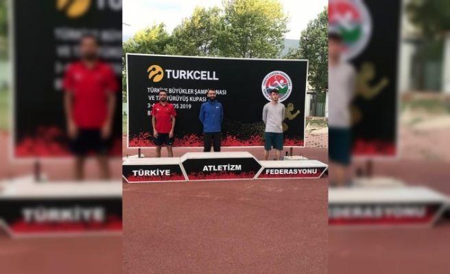 Atletizmde Kayseri Farkı