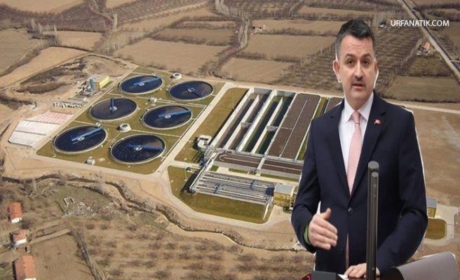 Bakan Pakdemirli'den Urfa'daki İçme suyuyla İlgili Flaş Açıklama