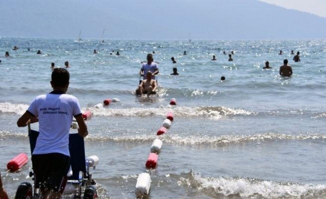 Muğla'da engelsiz plajlar artıyor