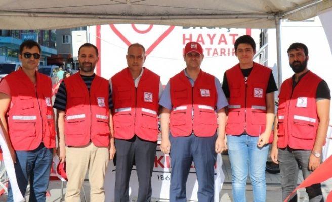 Kızılay'dan Kırşehir'de kurban bağış kampanyası
