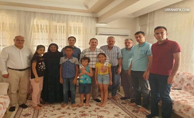 Kaymakam Dereci Ve Eşinden Şehit Ailesine Ziyaret