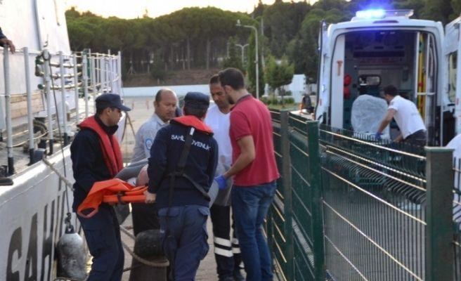 Sahil Güvenlik botu, hayat kurtarmaya devam ediyor