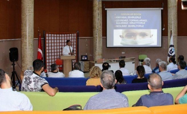 Aydın'da tarımsal üretimde alternatif metotlar konuşuldu