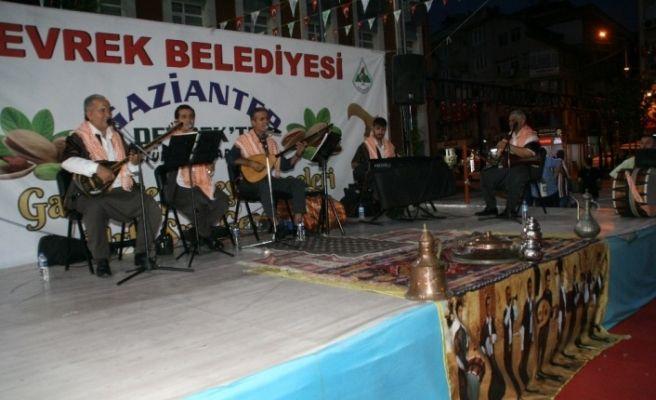 Devrek'te Gaziantep ve Urfa meşk geceleri