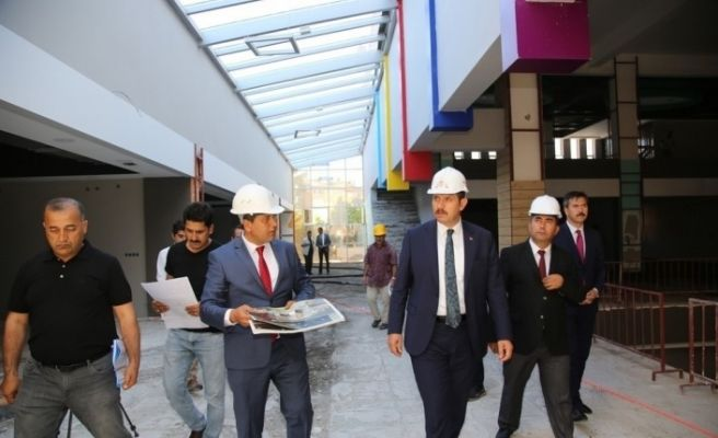 Yetenek ve Beceri Merkezi inşaatında sona gelindi