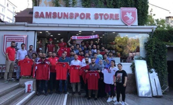 AK Parti'den Samsunspor'a destek