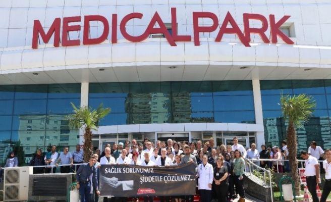 Medicalpark, sağlıkta şiddet olaylarına sessiz kalmadı