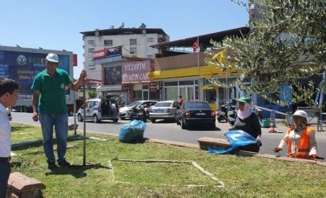 Nazilli'de hummalı bayram temizliği