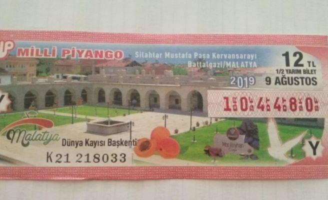 Milli Piyango biletlerinde Malatya'ya yer verildi