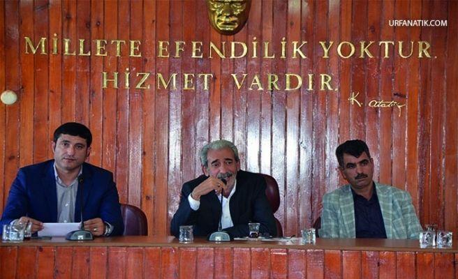 Siverek'te Meclis Toplantısı Tamamlandı