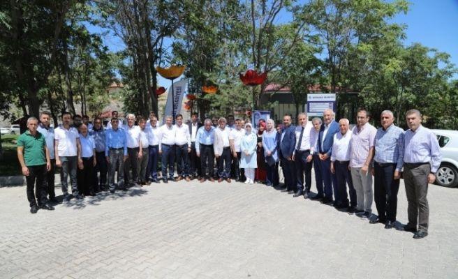 Battalgazi Belediye Meclisinde AK Parti gurubu toplandı