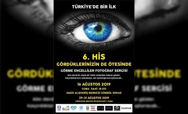 Görme engelli fotoğrafçılar Bodrum'da sergi açıyor