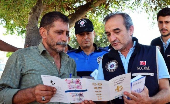 Polisten kurban satıcılarına sahte para ve dolandırıcılık uyarısı
