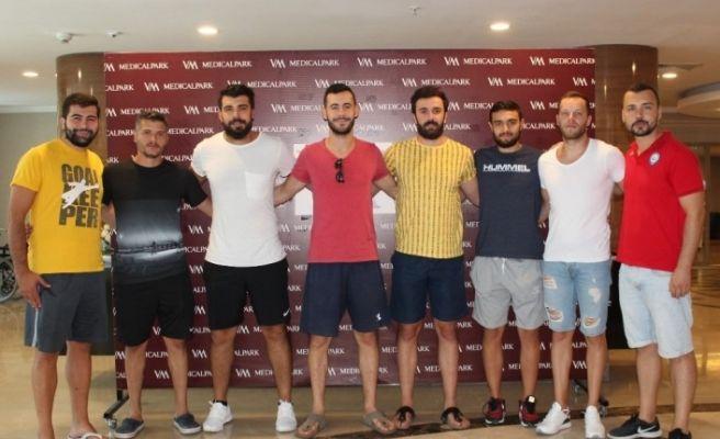 Nilüfer Belediyespor hentbol takımı kontrolden geçti