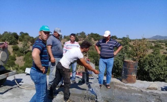 Büyükşehir Yenipazar'a 2 içme suyu kuyusu daha kazandırdı