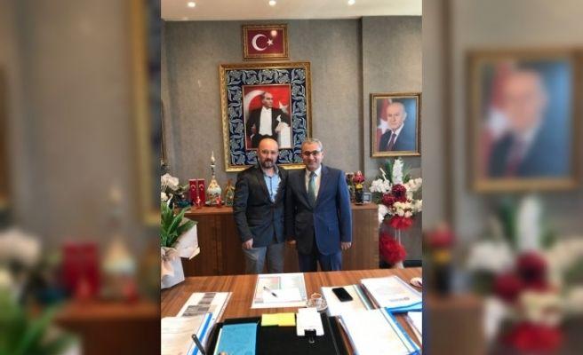 Almanya Wuppertal Kütahyalılar Derneği'nden Başkan Alim Işık'a ziyaret
