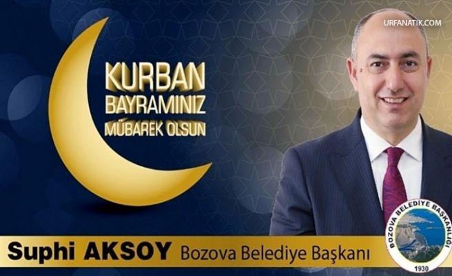 Başkan Aksoy'dan Kurban Bayramı mesajı