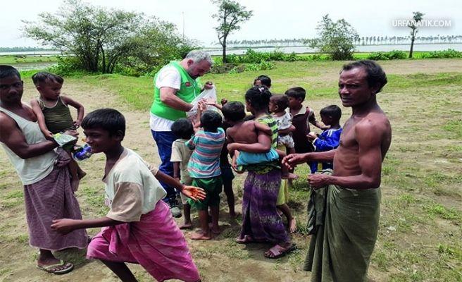 Siverek Yardımlaşma Dernek Başkanı Myanmar'da