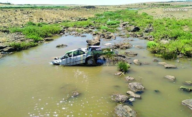 Siverek'te Menfezden Dereye Uçan Otomobildeki Üç Kişi Yaralandı