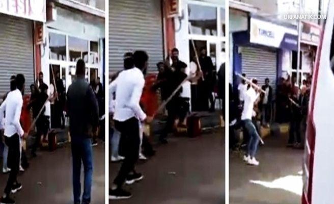 İki Grup Arasında Taşlı Sopalı Kavga 7 Yaralı