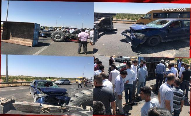 Şanlıurfa'da Zincirleme Trafik Kazası: Çok Sayıda Yaralı Var!