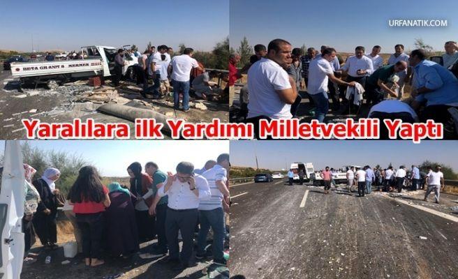 Urfa-Antep Karayolu Savaş Alanına Döndü 6 Yaralı