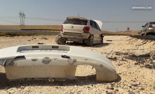 Şanlıurfa Diyarbakır Karayolunda Trafik Kazası
